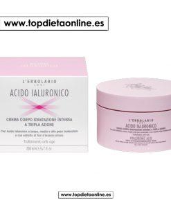 Crema corporal con ácido hialurónico L'erbolario