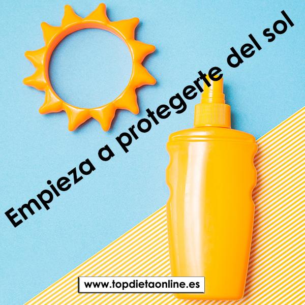 Empieza a protegerte del sol