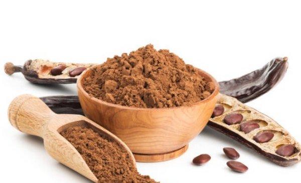 Algarroba. El sustituto del chocolate