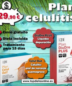 Plan dietético celulitis