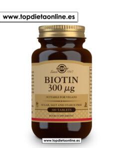 Biotin 300 Solgar